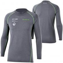 RS Taichi RSU307 Cool Ride Basic Under Shirt (Gray/Green)