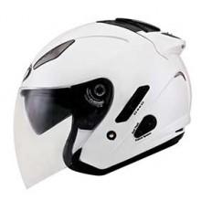 KYT Helmet Hellcat Plain White