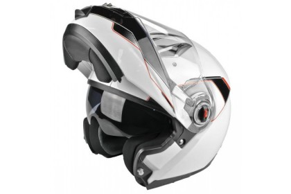 LS2 FF370 Helmet White Shadow