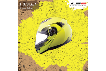 LS2 FF370 Easy HiVis Yellow