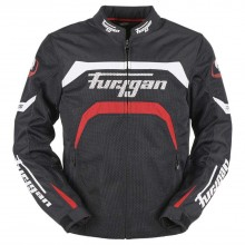 Furygan Arrow Vented Jacket (Black/Red)