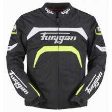 Furygan Arrow Vented Jacket (Black/Neon)