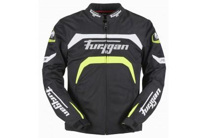 Furygan Arrow Vented Jacket (Black/Neon)