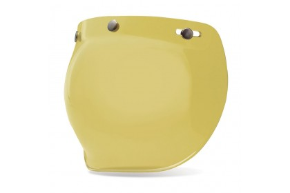 Bell Visor Custom 500 3 Snap Bubble Yellow