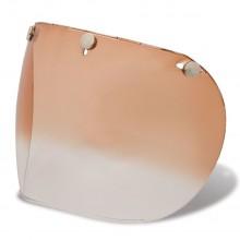 Bell Visor Custom 500 3 Snap Amber Gradient