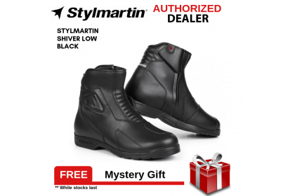Stylmartin Shiver Low Black