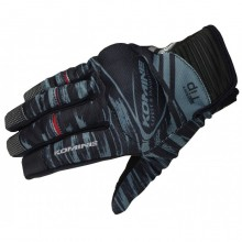 Komine GK-219 Protect Mesh Gloves (Black)