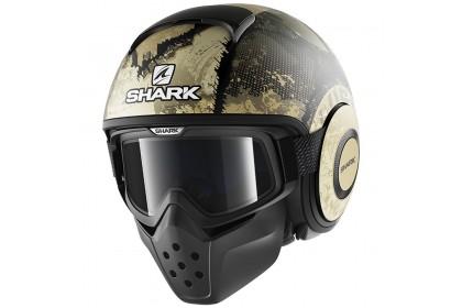Shark Drak Evok Mat KGS Open Face Helmet