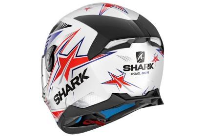 Shark Skwal 2 Draghal WBR (Gloss White Blue Red)