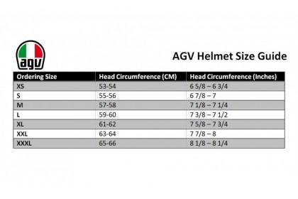 Agv K1 Top Asia Flavum 46