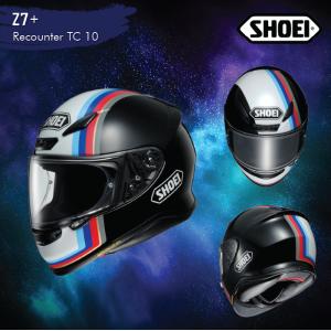 Shoei Z7 + Recounter (TC10)