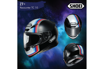 Shoei Z7 + Recounter (TC10)