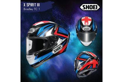 Shoei X-Spirit 3 Bradley 3