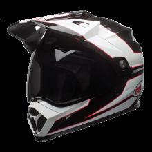Bell Helmet MX-9 Stryker Black White Adventure Full Face