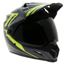 Bell Helmet MX-9 Barricade Hi Vis Adventure Full Face