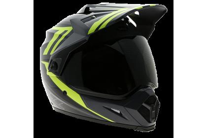 Bell Helmet MX-9 Barricade Hi Vis Adventure Full Face