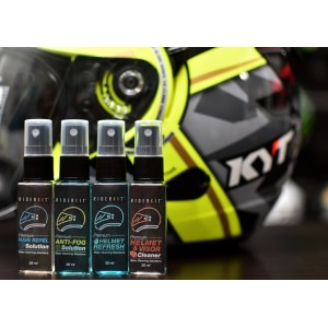 RiderKit Visor & Helmet Cleaner (Complete Set) + FREE Microfibre Cloth