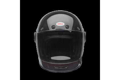 Bell Bullitt Gloss Black White Maroon Helmet