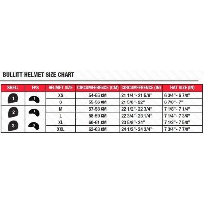 Bell Bullitt Spacial Edition Ryder Gloss Red Full Face Helmet