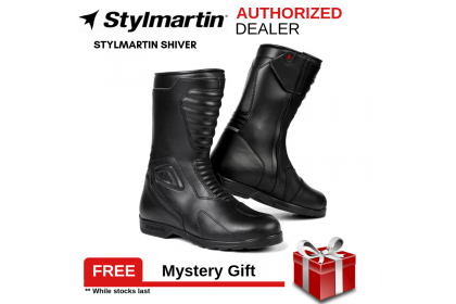 Stylmartin Shiver Black Riding Boots