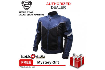 IZ2 IZ 308 Man Blue Jeans Jacket