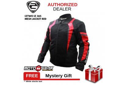 IZ2 IZ 365 Mesh Red Jacket