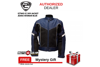 IZ2 IZ 309 Woman Blue Jeans Jacket
