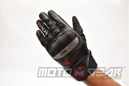 RS Taichi RST446 Scout Mesh Glove Black Red