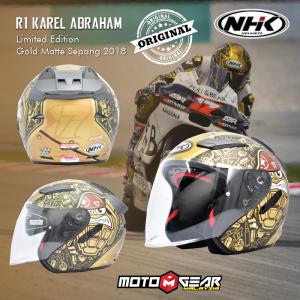 NHK R1 Karel Abraham Limited Edition Gold Matte Sepang 2018