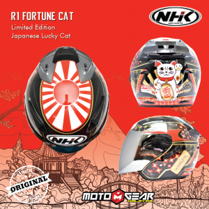 NHK R1 Fortune Cat Limited Edition Japanese Lucky Cat