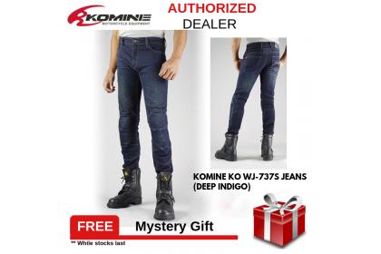 Komine KO WJ-737S Jeans (Black)