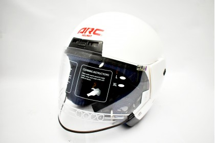 ARC Discovery Series Helmet Pearl White