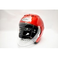 ARC Ritz Series Helmet Burgundy Red