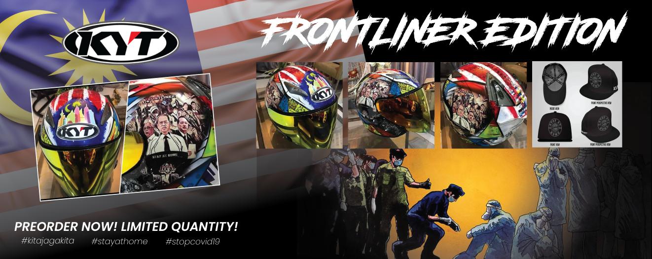 KYT Hellcat Frontline