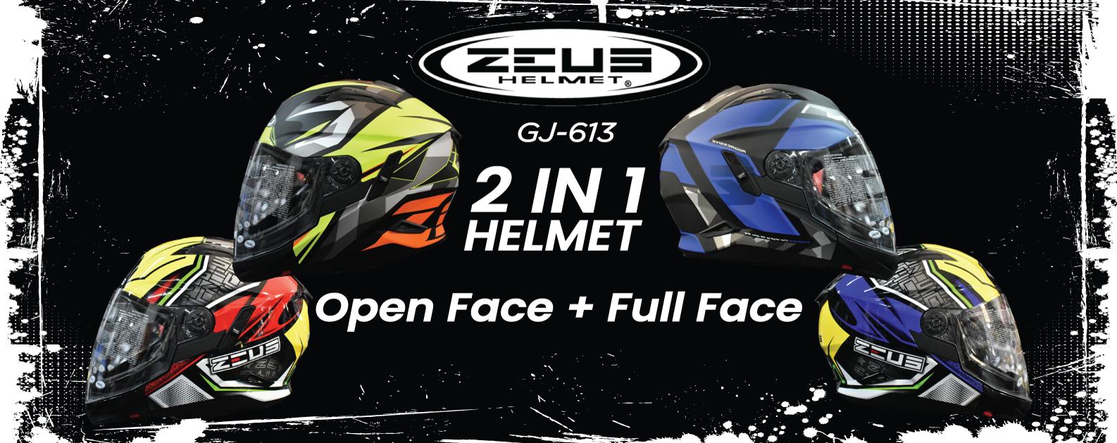 Zeus Helmet GJ-613